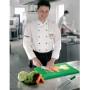 Cuoco Con Tagliere Verde Verdure